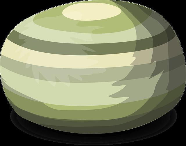 zelený bean bag
