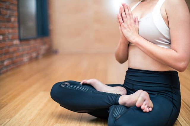 cvičení joginky
