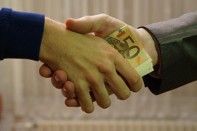 předání úplatku