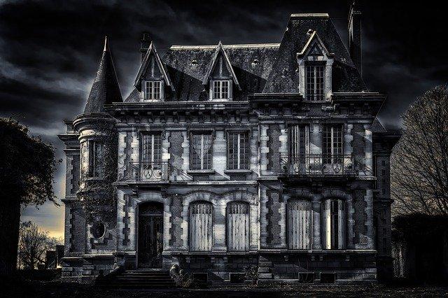 strašidelná vila